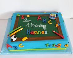 Die 26 Besten Bilder Auf Torte Einschulung Fondant Cakes School