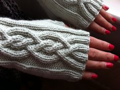 if knitting gloves with fingers proves to be too much, this ought to do it!