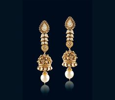 indian gold earrings designs