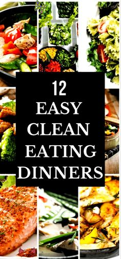 Healthy dinner recipes you can make in 30 minutes or less! Easy clean eating recipes for families to enjoy! Perfect to a Healthy dinner recipes you can make in 30 minutes or less! Easy clean eating recipes for families to enjoy! Perfect to add to your weekly meal plan for weight loss these clean eating recipes are quick & delicious! From one pot chicken to low carb fish and clean eating beef and pork you're guaranteed to find a new favorite healthy recipe for dinner here! #healthyrecipes… Clean Eating Recipes For Dinner, Dinner Recipes Easy Quick, Clean Recipes, Clean Eating Snacks, Healthy Eating, Easy Recipes For Two, Heathly Dinner Recipes, Clean Eating Kids, Clean Foods