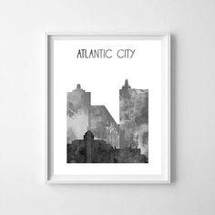 Atlantic City Atlantic City printable Atlantic City skyline