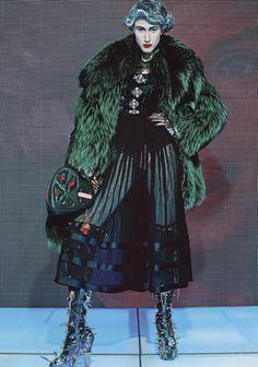 Anna Cleveland by Steven Klein for Vogue Italia June 2015