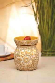 The beautiful Sol warmer is being discontinued this month! Order while it's 10% off  https://amandabetzer.scentsy.us/Scentsy/Buy