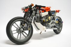 Lego Motorbike, Lego Moc, Lego Technic, Legos, Motorbikes, Cool Cars, Motorcycles, Bicycle, Concept