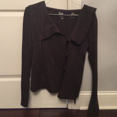Lucky Brand top Beautiful Lucky Brand top!! Excellent condition!!! Lucky Brand Tops Sweatshirts & Hoodies