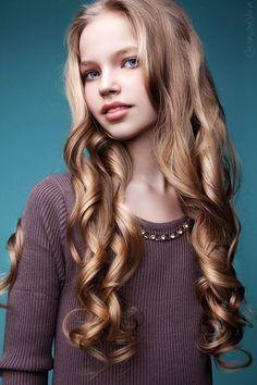 Zoe Kurzenkova (born February 26, 2004) fashion child model from Russia.  Yana Chuvalova Photography.