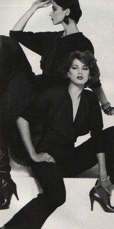 Giorgio SantAngelo, American Vogue, September 1983.