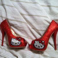 Rhinestone Hello Kitty for 322