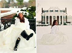 For a snowy wedding