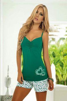 LAS MEJORES PIJAMAS PARA DORMIR MASCÓMODAS Pajamas All Day, Summer Pajamas, Girls Pajamas, Babydoll Lingerie, Lingerie Sleepwear, Nightwear, Cute Pjs, Cute Pajamas, Pyjamas
