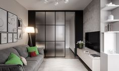 Adorable 130 Studios Apartment with Glass Divinding Wall Ideas https://homeastern.com/2017/07/09/130-studios-apartment-glass-divinding-wall-ideas/