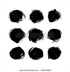 painted circle vector free - Google Search