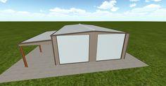 Cool 3D #marketing http://ift.tt/2mzj5t4 #barn #workshop #greenhouse #garage #roofing #DIY