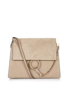 Love this by CHLOÉ Faye Leather And Suede Shoulder Bag - $1566