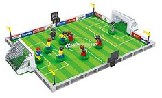 BRICKLAND Sport Compatible Building Block Toy Set 9 Soccer Players with Goal Nets and Soccer Field for Kids 6 251 Piece ** Check out the image by visiting the link.Note:It is affiliate link to Amazon.