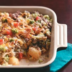 Beef & Tater Bake Recipe from Taste of Home -- shared by Mike Tchou of Pepper Pike, Ohio