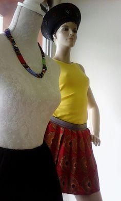 African dresses designed and made @ Lornajasmine Designs,Oudtshoorn,Western Cape. Designer Wear, Designer Dresses, Waist Skirt, High Waisted Skirt, African Dress, Cape, Ballet Skirt, Skirts, How To Wear