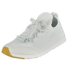 Native Shoes Unisex AP Mercury Liteknit Shell White/Shell White/Natural Rubber Athletic Shoe (11.5 B(M) US Women / 9.5 D(M) US Men)