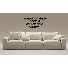 Play Like a Champion Everyday quote Wall Art Sticker Decal