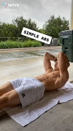 Are you looking for the best ab workout? Watch this How To Get Abs Easy Workout TikTok by and start working out for a better looking and healthier body. Sixpack Abs Workout, Abs And Cardio Workout, Gym Workout Chart, Gym Workout Videos, Gym Workout For Beginners, Abs Workout Routines, Weight Training Workouts, Fitness Workouts, Easy Workouts