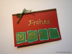 Glückwunschkarte Frohes Fest