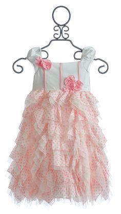 Isobella and Chloe Little Girls Pink Party Dress Heaven Sent $49.00