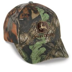 John Deere toddler camo hat $16.95. This might be a toddler's hat but I love it