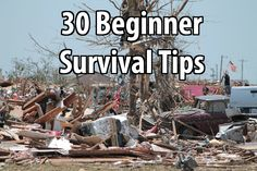 Spend a little time working on your survival plans everyday. The time will add up fast. Here are some survival tips you should focus on first.