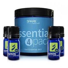 Spark Naturals Essential Oil 4-Pack GIVEAWAY