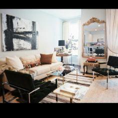Apartment decor . love the color combo **