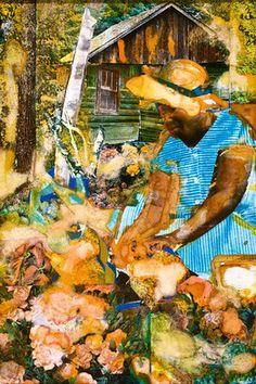 Romare Bearden: Southern Reflections, Maudell Sleet's Magic Garden