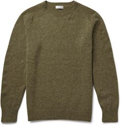 Margaret Howell - Wool and Cashmere-Blend Sweater|MR PORTER