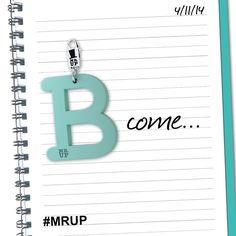 B come… Ballare o Baciare? L'importante è non uscire mai senza le lettere Mr.Up! #MrUp #FashionJewels  →www.mrup.it←