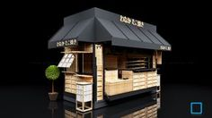 Takoyaki Kiosk | KOTAK INTERIOR AND FURNITURE