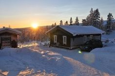 Solnedgang i Jervevegen