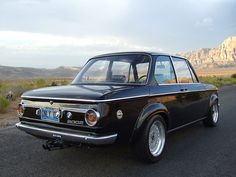 classic bmw alpina 2002 photos | 1973 BMW 2002 Schwartz at Only 02