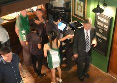 Dubliner Sukhumvit 33 - Bangkok Irish Bar - Jigging too fast for lens - For blog check here http://live-less-ordinary.com/bangkok-expat/dubliner-sukhumvit-33-bangkok