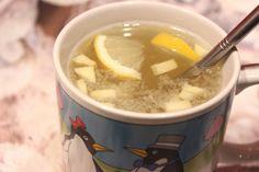Boisson anti-rhume (Grog au gingembre)