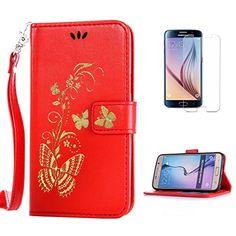 Yrisen 2in 1 Samsung Galaxy S6 Tasche Hülle Wallet Case S…