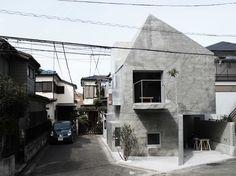 FKI дом (FKI house) в Японии от Urban Architecture Office.