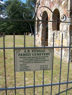 Pedigo Cemetery, outside what was Pedigo, Texas.  Before Army Corp of Engineer flooded the town with the Trinity River.