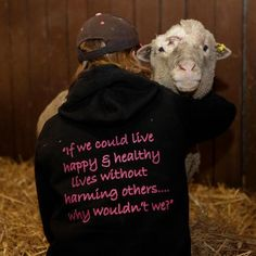 If we could live happy healthy lives without harming others, why wouldn't we?
