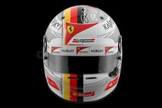 Helmet Arai GP6 2017 - Vettel Brazil version texture 3D Model .max .c4d .obj .3ds .fbx .lwo .stl @3DExport.com by JAhelmet