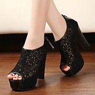 zapatos de las mujeres liangmeiyue botines peep t... – USD $ 19.99