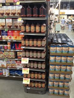 Teaspoon Willie's Display at Central Markets