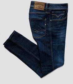 Blue Jeans, Denim Jeans, Casual Pants, Casual Outfits, Men Casual, Denim Fashion, Fashion Outfits, Replay Jeans, Jean Jumper