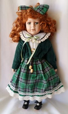 Elspeth ~ Vintage Porcelain Haunted Doll ~ Scottish Druid Lassie ~ Knowledgeable in Gaelic Magick by FugitiveKatCreations on Etsy