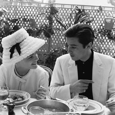 With Romy at Cannes in 1962.