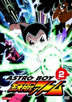 The Japanese cover to DVD Volume 2 of the 2003 Astro Boy anime (known in japan as Astro Boy: Tetsuwan Atom). Astro Boy, Boy Meme, Boy Images, Popular Anime, Real Hero, Magical Girl, Nostalgia, Geek Stuff, Fan Art