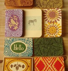killer stationery. one day when I own my own design/card company I will make delightful things like this! Love it!